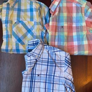 Excellent condition boys M 12/14 button down shirt